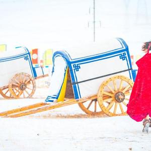 蒙古游记图文-冬季的锡林郭勒,来自草原的一场盛会