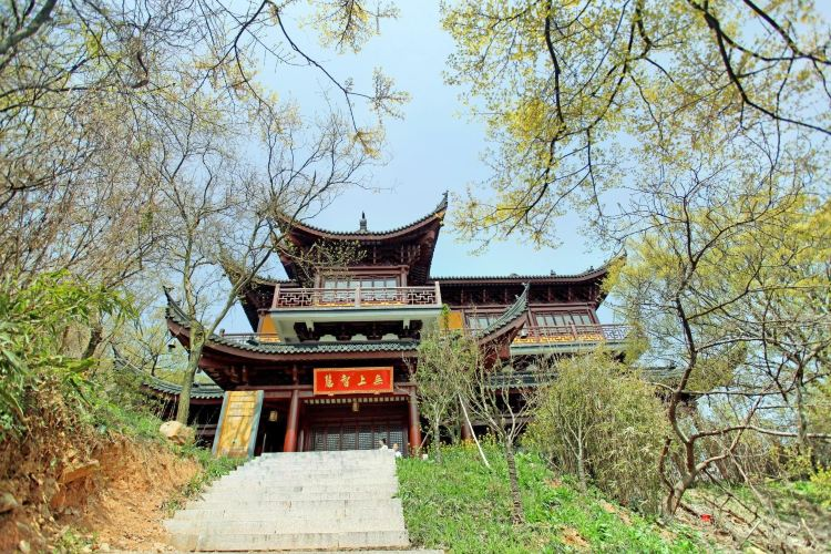 Wenshusi Temple Complex at Taiyangshan National Forest Park