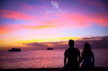 夏威夷欧胡岛的日落时分
