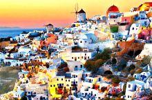 希腊人7⃣️彩的幸福生活🇬🇷-圣托里尼岛