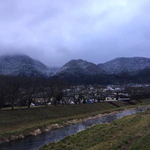 日田市游记图文-九州漫步之飘落汤布院的雪