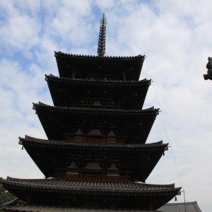 法起寺旅游景点攻略图