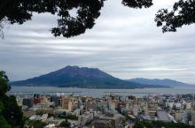 """日本的海上活火山""""樱岛"""""""