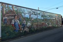 彻美纳斯镇的壁画