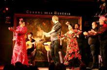 Flamenco       提前预定了一家可以看弗拉明戈 (Flamenco)表演的餐厅。Corr