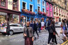 爱丁堡居然是彩色的