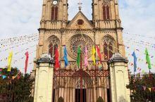 """图看华南最大的天主教堂广州教区""""石室圣心主教座堂"""""""