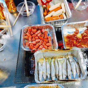 海湾沙滩烧烤场旅游景点攻略图