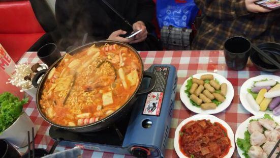 韓國年糕火鍋料理