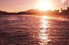 神州日落美景