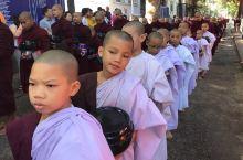 缅甸行行摄摄第三站 曼德勒 马哈伽纳扬僧院