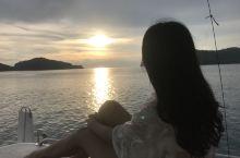 浪漫的日落游