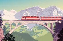 @聪明人,你难道不奢想坐瑞士火车旅行?