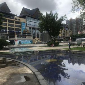泼水广场旅游景点攻略图