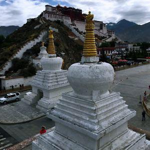 布达拉宫药王山观景台旅游景点攻略图