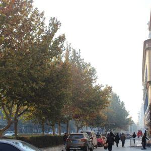 喀什商业步行街旅游景点攻略图