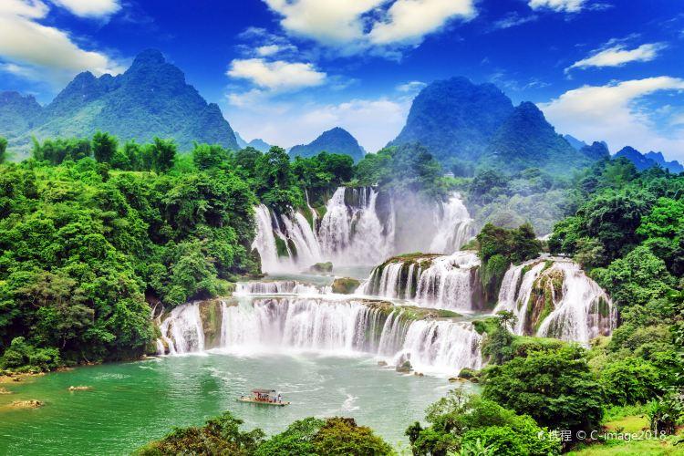 Detian Transnational Waterfall Scenic Area2