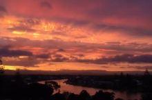 澳洲黄金海岸绝美日落