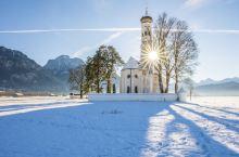 这里有你无法想象的美,冬天的德国南部