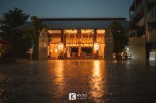 藏在东京人少又好看的神社:赤坂神社