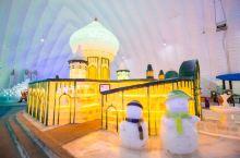 #最美冬季雪景# 最具有艺术感的冰雪世界