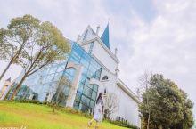 武汉周边‼️拍照好去处‼️新晋网红玻璃教堂,小公主最爱