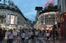 中山路步行街小吃街夜游