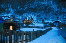 #向往的生活#沉醉在童话里的利镇风雪之中