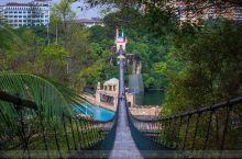 世界上最长的吊桥 马来双威主题乐园
