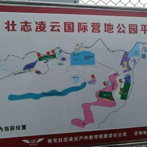 凌云山风景区旅游景点攻略图