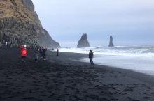 冰岛维克黑沙滩