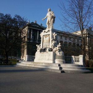 莫扎特纪念像旅游景点攻略图