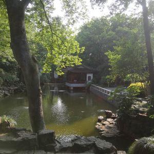 秋霞圃旅游景点攻略图