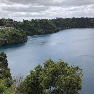 蓝湖旅游景点攻略图