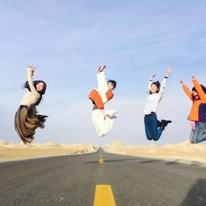 西宁游记图文-【自驾西北环线】戈壁滩160码飙无人区,在大漠遇见一只爱笑的骆驼。