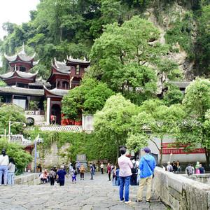 镇远游记图文-镇远古城青龙洞--峭壁悬崖好修仙