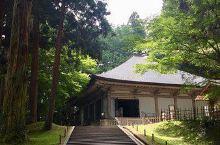 如穿梭在时光隧道的中尊寺  关于中尊寺的起源 日本是个世界遗产的申遗国,而中尊寺就是其中之一。中尊寺