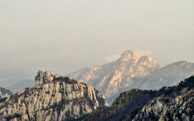 全程徒步登泰山