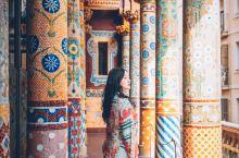 西班牙|加泰罗尼音乐厅 把花朵装进音乐盒 巴塞罗那因为高迪的建筑而具有魔幻色彩,而高迪的老师路易•多