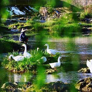 花溪国家城市湿地公园十里河滩景区旅游景点攻略图