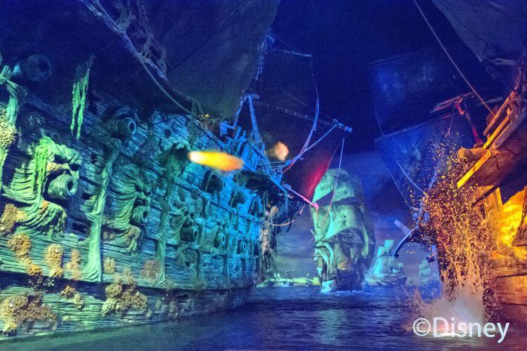 캐리비안의 해적 - 가라앉은 보물의 전투