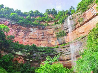 Foguang Rock, Chishui Danxia Tourist Area