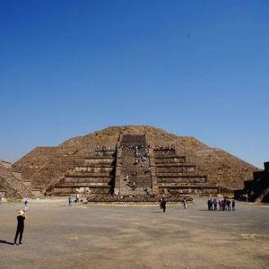 太阳金字塔旅游景点攻略图