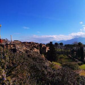 庞贝古城旅游景点攻略图