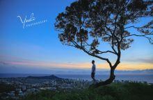 夏威夷·欧胡岛 坦特拉斯观景台