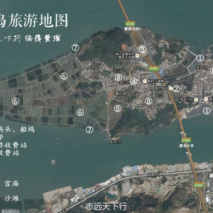 龙海游记图文-厦门除了眼前的鼓浪屿,还有不远的这座神秘海岛!