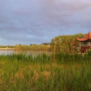 月牙湖旅游景点攻略图