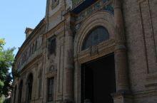 塞维利亚西班牙广场外观