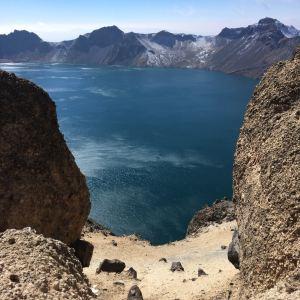 长白山火山遗址风景区旅游景点攻略图