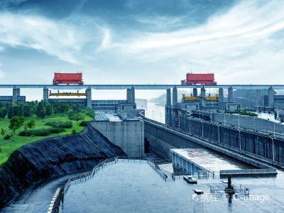 Three Gorges Dam Tourist Area